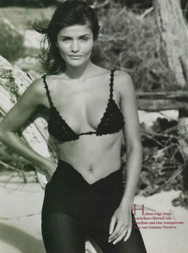 Хелена Кристенсен, 1990-е