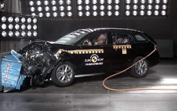 Новая Октавия провалила некоторые краш-тесты Euro NCAP