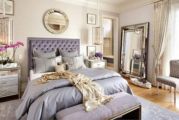Как расположить зеркала в cпальне, гостиной и столовой