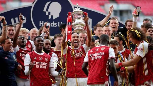Обамеянг забил «Челси» дважды, завоевал для «Арсенала» Кубок Англии и чуть не сломал его