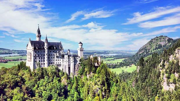 Самый сказочный замок в мире - Нойшванштайн