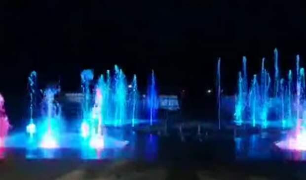 «Согласитесь, красота!» ВОмске протестировали новый светомузыкальный фонтан