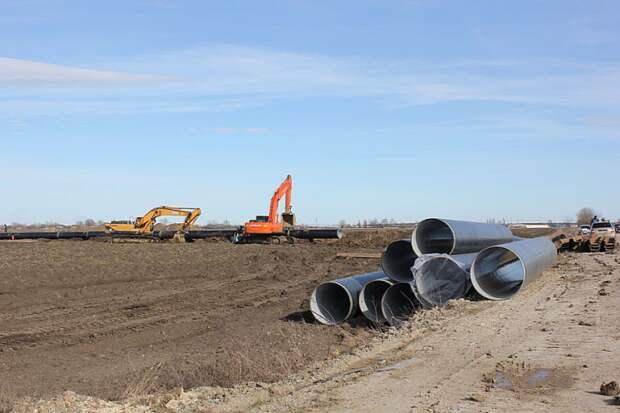 На Кубани начался очередной этап реконструкции Троицкого группового водопровода