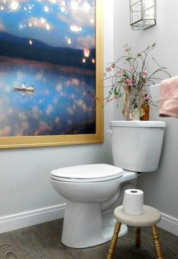 Необычный декор ванной и туалета (Diy)