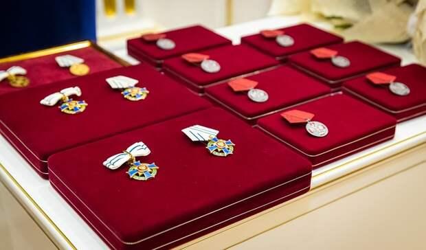 Президент наградил орденами две многодетных семьи в Волгоградской области