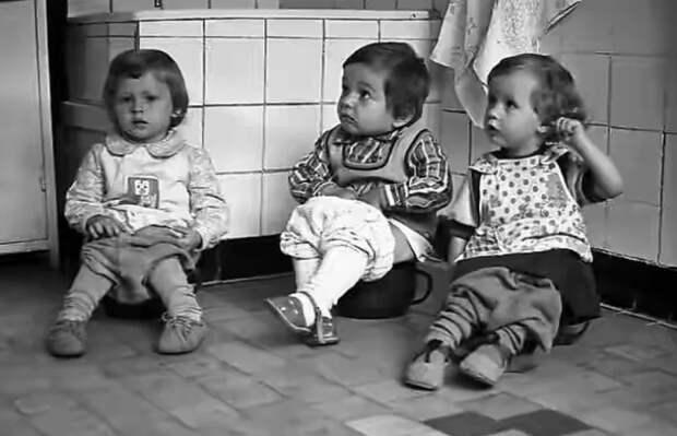 В советских садиках учились счастью