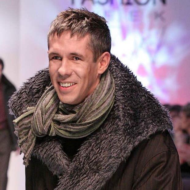 Алексей Панин выходил на подиум на Неделе моды