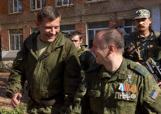 Захар Прилепин о Захарченко и с Захарченко