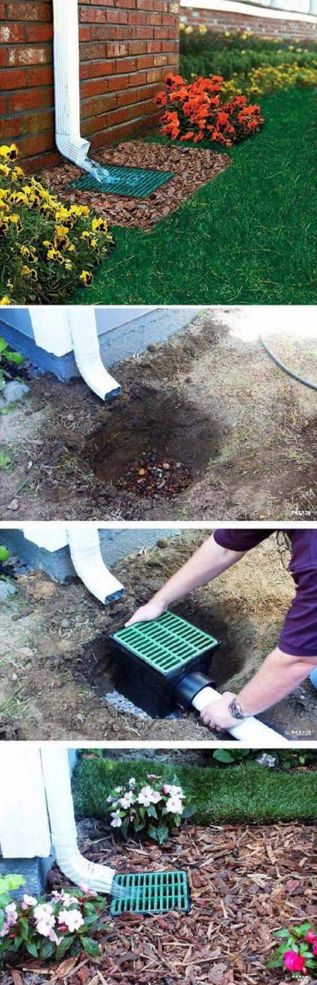 Сливная система с изюминкой: идеи обустройства водостока