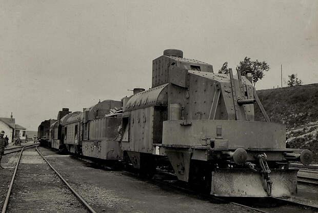 Австро-венгерский бронепоезд. Первая мировая война, 1914 год