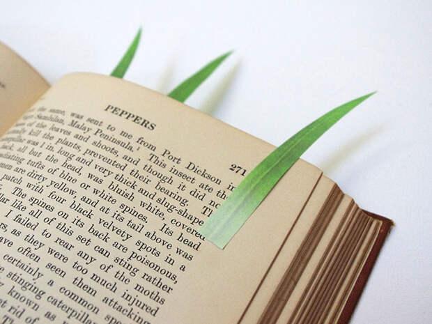 Самые креативные закладки для настоящих книголюбов
