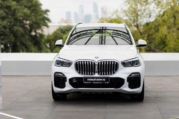 Абсолютно новый BMW X5 показали в Москве. Задолго до официальной премьеры