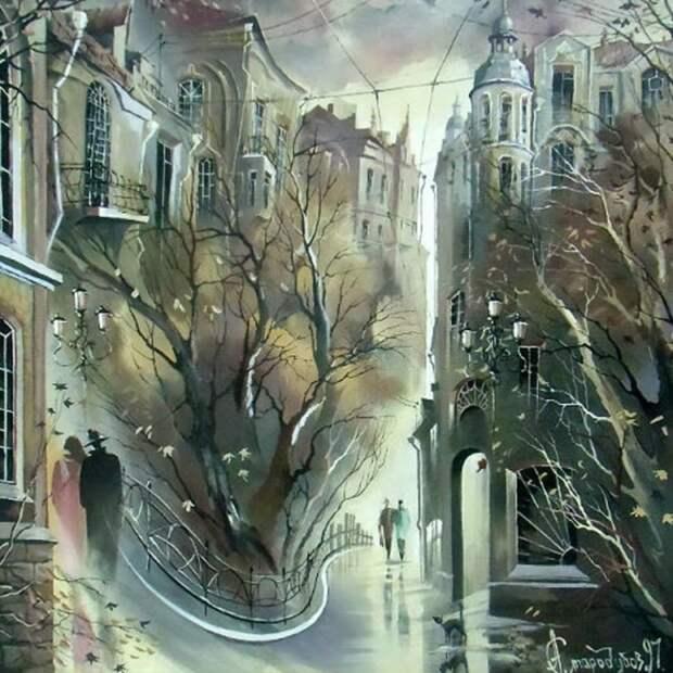 Осень: Прогулка по Москве №2. Автор: Александр Стародубов.