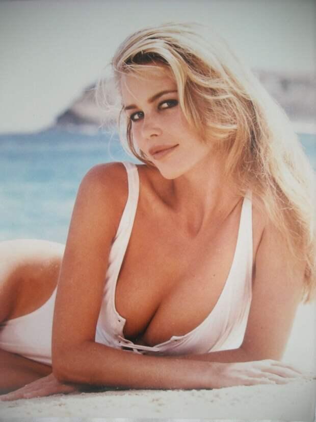 Эталонная блондинка Клаудия Шиффер