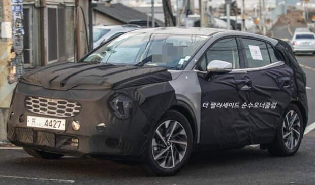 Кроссовер Kia Sportage нового поколения показан на видео