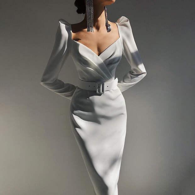 Будем самыми изящными. Топ-10 модных платьев весны 2021