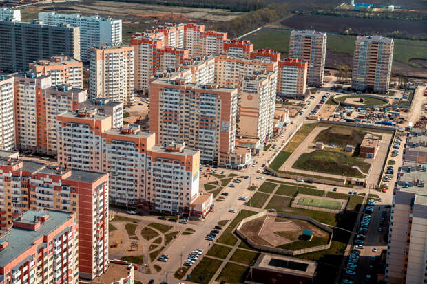 Россия стала лидером Европы по числу построенных квартир