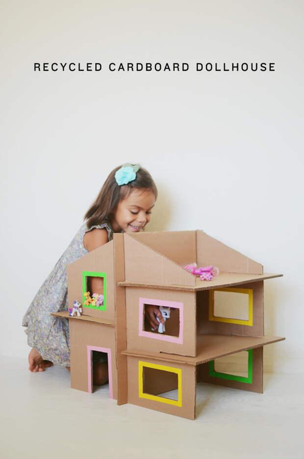 diy-recycled-cardboard-dollhouse