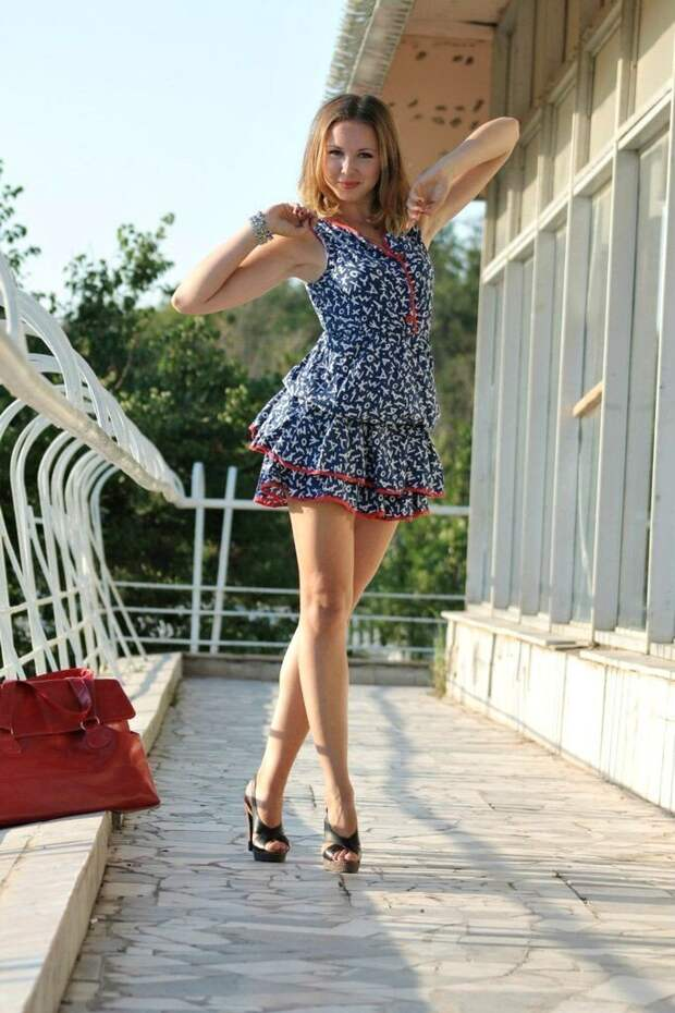 Красивые девушки в летних платьях | Личные новостные ленты: NewsN1