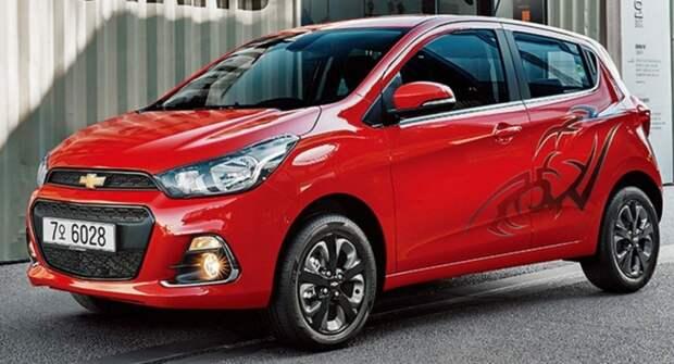 Компания Chevrolet готовит новую модель для рынка России
