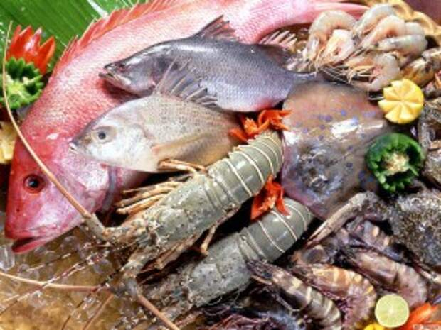Морепродукты и рыба для омоложения
