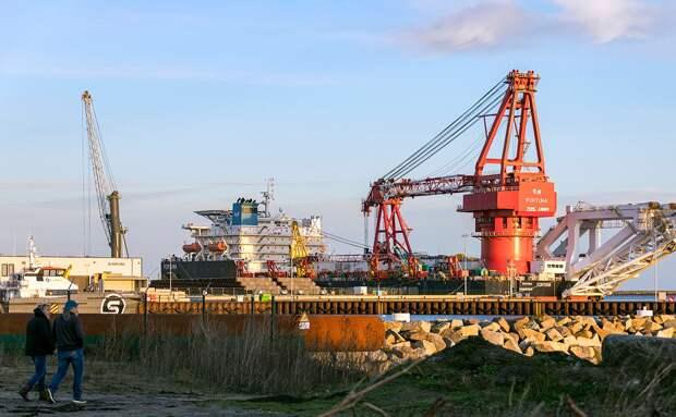 Завершению постройки «Северного потока-2» мешает неуступчивость «Фортуны»