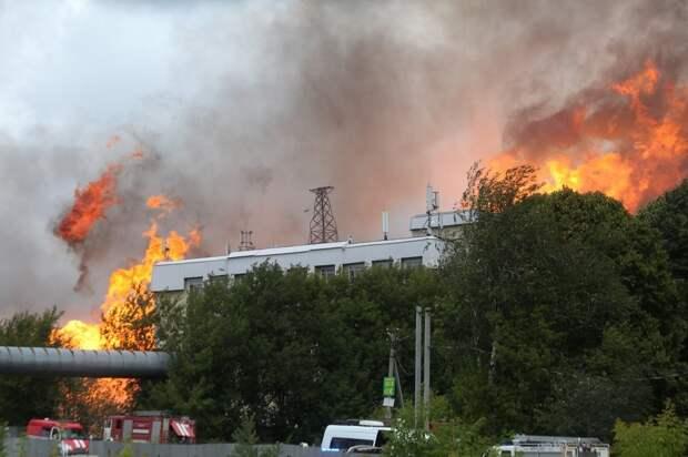 Один человек погиб при пожаре на ТЭЦ в Мытищах