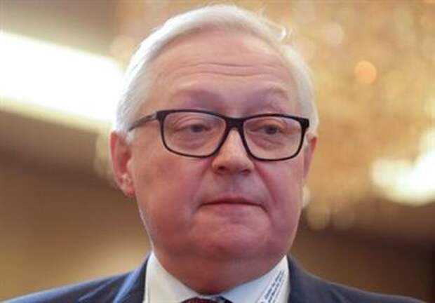 Russian Deputy Foreign Minister Sergei Ryabkov attends the Moscow Nonproliferation Conference in Moscow, Russia November 8, 2019. REUTERS/Maxim Shemetov