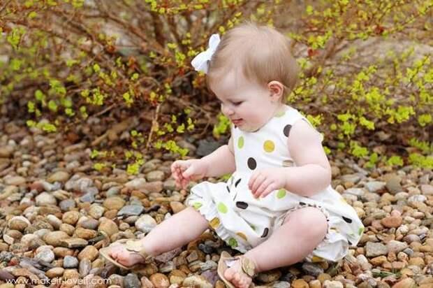 Картинка шьем детский песочник своими руками