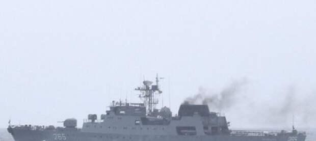 В Черном море состоялись совместные украинско-румынские тренировки типа PASSEX