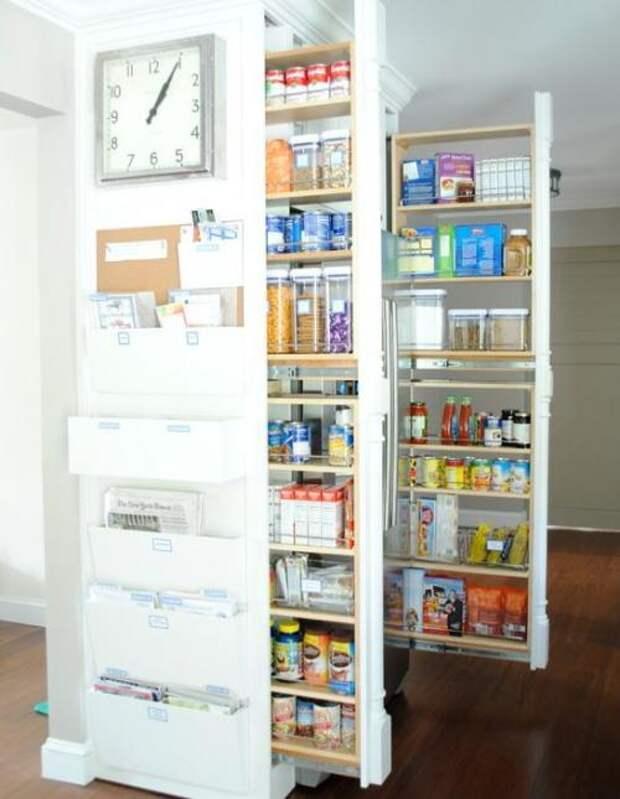 Удобное хранение продуктов на кухне: фото идеи 07