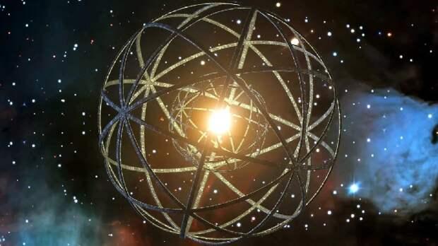Внеземные цивилизации могли создать сферу Дайсона вокруг черной дыры