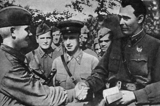 На фронте Брежнев тоже сделал хорошую карьеру.