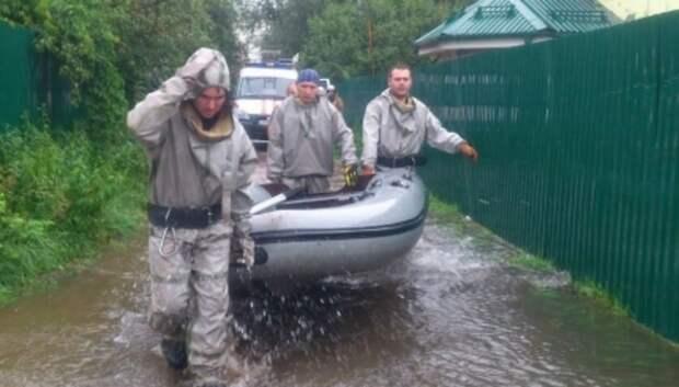 165 дачных участков остаются затопленными в Подмосковье
