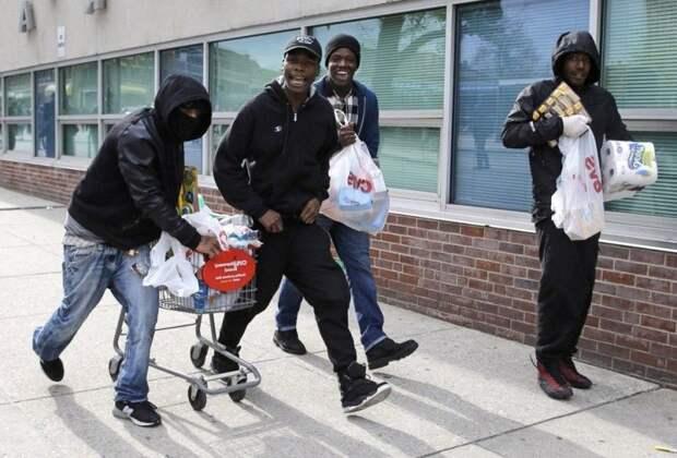 Черные дни Черной Пятницы от черных людей