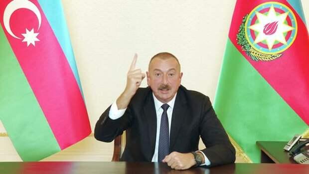Алиев объявил обокончании «отечественной войны»: Баку потребует возмещения