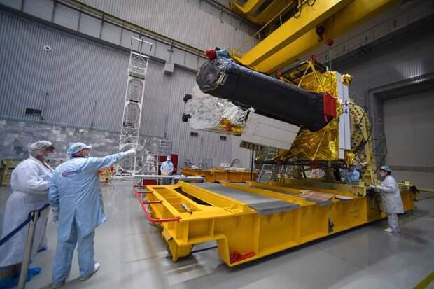 Космическая обсерватория «Спектр-РГ» завершила третий обзор всего неба