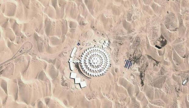здание, песчаных дюн, комплекс, песчаный лотос, www.ufospace.net
