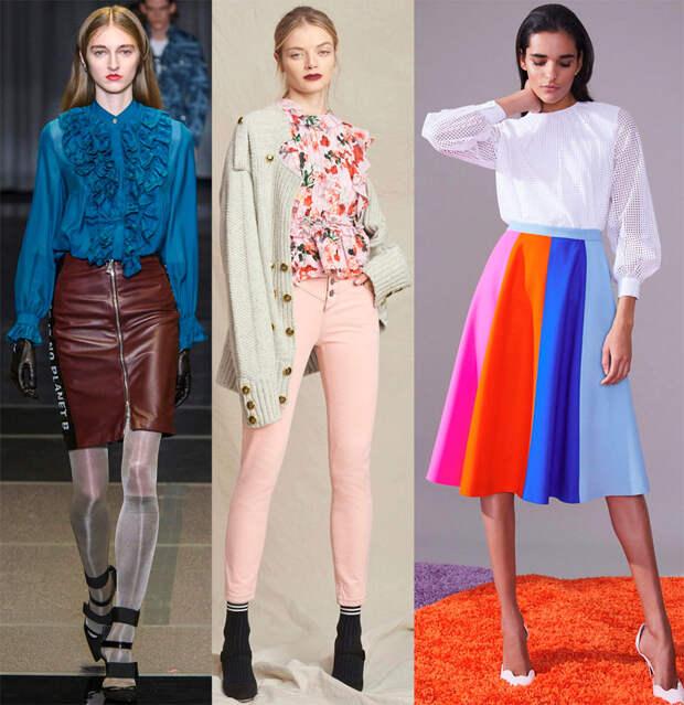 46 блузок на осень и зиму 2018-2019 от модных брендов
