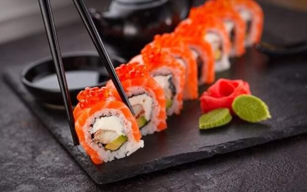 Обзор популярных сетей суши ресторанов Бугульма
