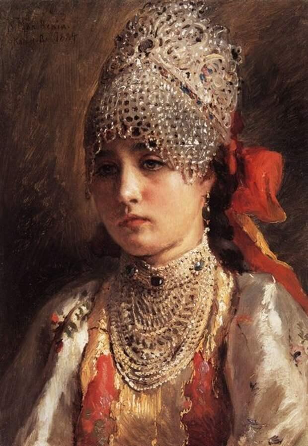 Портрет, 1884