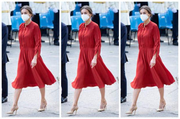 Образ дня: испанская королева Летиция в самом униве...