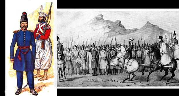 Персидские гвардейцы