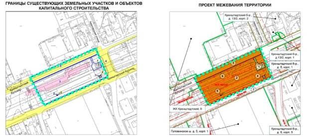Проект размещения павильона на Кронштадтском стал доступен для обсуждений