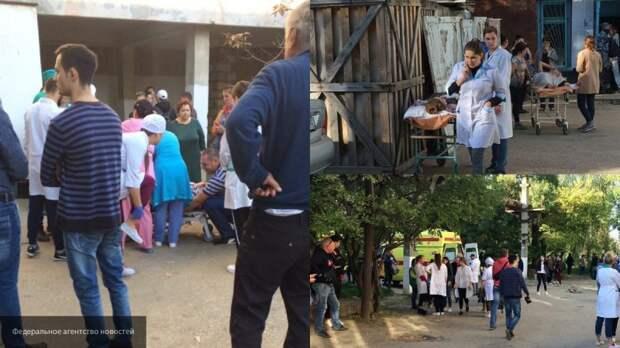 Опубликованы новые фотографии с места взрыва и стрельбы в Керчи