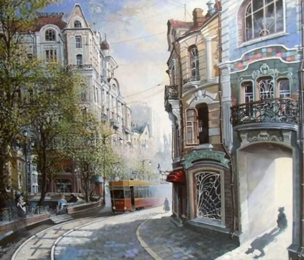 Аннушка /Накануне/. Автор: Александр Стародубов.