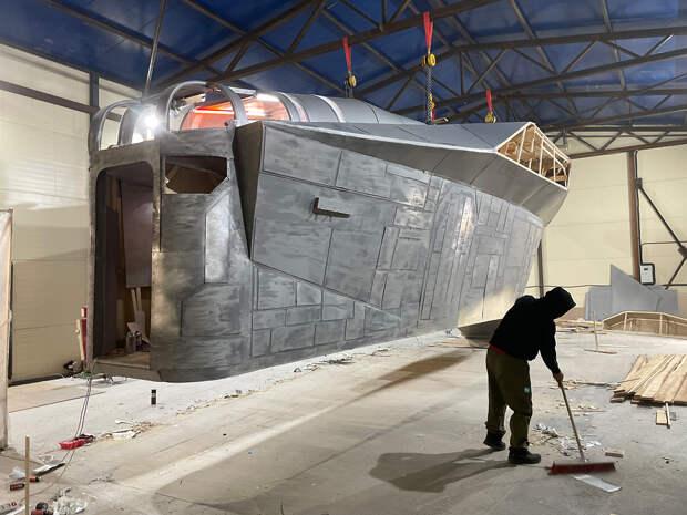 Зачем в Якутии построили космический корабль из сериала «Мандалорец» (ФОТО+ВИДЕО)
