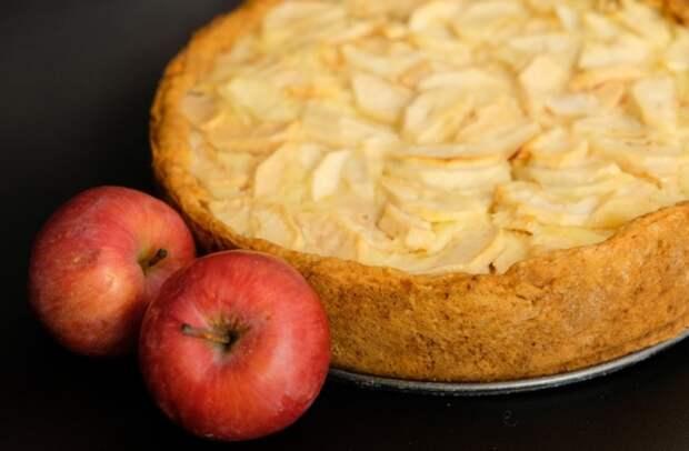 Цветаевский яблочный пирог Пирог, Выпечка, Рецепт, Еда, Видео, Длиннопост