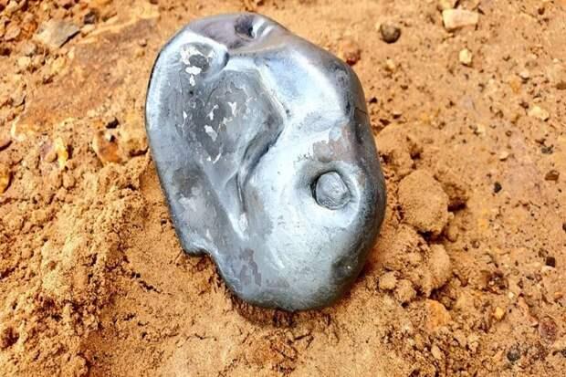 На Индию упал фрагмент НЛО
