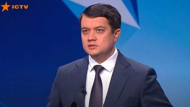 Спикер Рады Разумков ответил, готовли онзаменить заболевшего Зеленского